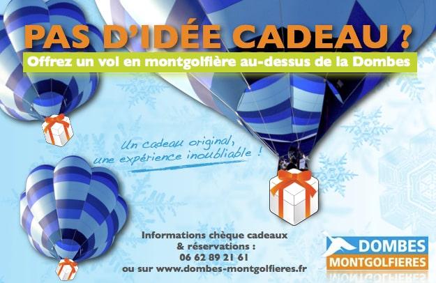 bon cadeau Dombes Montgolfieres