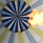 Feu dans la montgolfière
